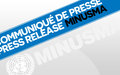 Le Chef de la MINUSMA encouragé par les négociations à Alger