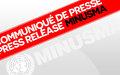 La MINUSMA condamne les attaques terroristes contre les forces armées et de sécurité du Mali au centre et au nord du pays