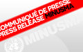A MINUSMA Vehicle Hits a Mine: Seven Peacekeepers Injured