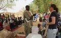 La MINUSMA fait une donation du bois de récupération aux habitants du village de Berrah