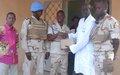 A Gao, les Casques bleus sénégalais fournissent des médicaments à l'hôpital