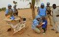 Dans le Centre du Mali, la Police de l'ONU renforce la confiance entre la population et la MINUSMA