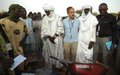 La MINUSMA finance le surcreusement de la marre Rambetou du village de TACHARANE à Gao : un projet agricole et de génie social.