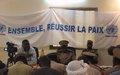 Forum de Dialogue entre les autorités, les élus et les ressortissants de Kidal à Gao.