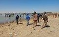 La Police des Nations unies sécurise un évènement majeur de la vie sociale d'Hondoubomo