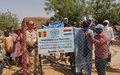 Gao : Le contingent néerlandais de la Force de la MINUSMA et la Police onusienne soutiennent deux projets communautaires à Tacharane