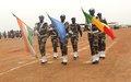 La médaille des Nations Unies décernée à 850 Casques bleus Nigériens à Ansongo