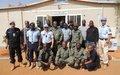 UNPOL forme la police de Gao à la lutte contre le trafic humain et le crime organisé
