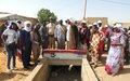 Un collecteur d'eau de plus d'un kilomètre offert aux habitants de Gao par la MINUSMA