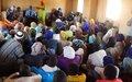 À Hondoubomo, les leaders communautaires échangent avec la MINUSMA