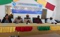 À Tombouctou, la MINUSMA soutient les pouvoirs publics locaux