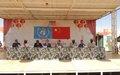 L'ONU salue l'engagement de 400 Casques bleus de la MINUSMA au service de la paix au Mali
