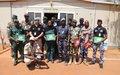 Gao : formation des forces de défense et de sécurité maliennes sur la sécurisation et l'escorte des détenus