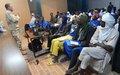 La MINUSMA échange avec les jeunes ruraux de la Commune de Ber sur son travail au Mali