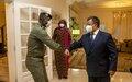 Rencontre RSSG - Ministre malien de la Réconciliation nationale