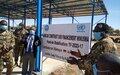 La MINUSMA dote le Camp Militaire Firhoun Ag Alinsar de Gao d'un atelier de réparation d'engins