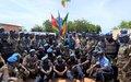 Région de Mopti – Les Casques bleus togolais et les Officiers de police individuels décorés de la médaille des Nations unies
