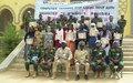 La MINUSMA à Gao : formation des agents et cadres administratifs de la région à l'informatique