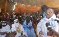 La MINUSMA accompagne et appuie le gouvernement malien dans son effort engagé pour une cohabitation pacifique entre les communautés du Nord