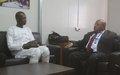 Gao - Le Chef de Bureau de la MINUSMA s'entretient avec le nouveau Directeur Régional de l'Office de Radio Télévision du Mali ORTM