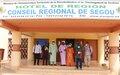 MOPTI : Visite de courtoisie de la Cheffe de Bureau de la MINUSMA dans les régions de Ségou et San