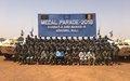 GAO : 850 Casques bleus bangladais ont reçu la médaille des Nations Unies