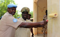 Réhabilitation du poste de commandement du groupement régional de la garde nationale à Mopti