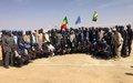 les premiers policiers togolais de l'unité de force constituée de la Police de la MINUSMA décorés