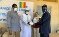 Lutte contre la Covid-19 à Tombouctou: la MINUSMA offre aux autorités sanitaires et judiciaires des kits de prévention