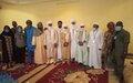 Le Chef du Bureau de la MINUSMA reçu par des représentants de la communauté arabe de la région de Gao