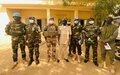 Centre du Mali: visite du Chef d'état-major de la Force de la MINUSMA, le Général Pierre-Joseph GIVRE