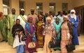 La MINUSMA finance un projet pour la mobilisation des femmes autour des élections