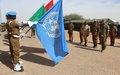 Les Casques bleus burkinabés décorés de la médaille des Nations Unies à Tombouctou