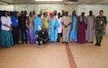 Région de Mopti – Rencontre à la MINUSMA au lendemain des scènes de pillage