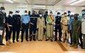À Mopti, 15 agents des Forces de défense et de sécurité maliennes outillés pour former leurs pairs sur la protection de l'enfant