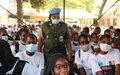 1500 filles du lycée Notre Dame du Niger sensibilisées sur le leadership féminin par l'Unité genre de La Police des Nations Unies