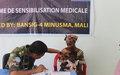 Visites médicales gratuites au profit de la population de Tombouctou