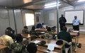Les forces de défense et de sécurité maliennes basées à Gao se perfectionnent en matière de renseignement