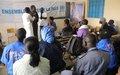 Tombouctou : La MINUSMA rencontre les élèves du Lycée Garba Maiga