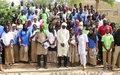 Tombouctou: élèves et enseignants échangent avec la MINUSMA