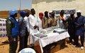Médias : La MINUSMA renouvelle son engagement auprès des radios libres d'Ansongo.