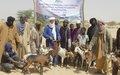 Tombouctou: La MINUSMA soutien des ménages vulnérables dans la Commune d'Alafaia
