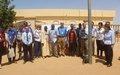 Les contributeurs au Fonds de Consolidation de la Paix reçus dans la Case de la Paix de Gao