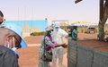 COVID-19: Une délégation de la MINUSMA à Mopti en visite au camp de Douentza