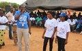 La MINUSMA fait connaitre son mandat aux communautés de Mopti