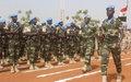 Gao : Remise de la médaille des Nations Unies aux Casques bleus égyptiens et sénégalais