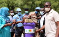 Coronavirus : la MINUSMA fournit des kits de protection à la population de Mopti