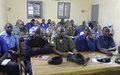 Tombouctou : La MINUSMA aide à la formation en police judiciaire et en Police Technique et Scientifique