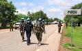 Région de Mopti - Les Casques bleus, Policiers et militaires, maintiennent leur concours à la sécurisation des populations