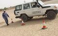 Tombouctou : UNPOL forme les agents de la Gendarmerie malienne à conduire dans le sable